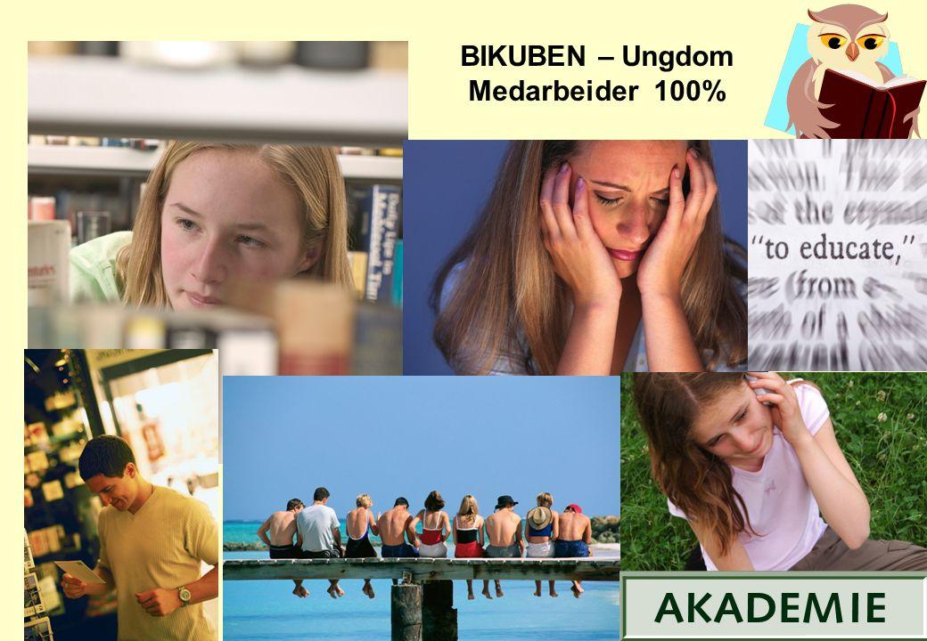 BIKUBEN – Ungdom Medarbeider 100% 21