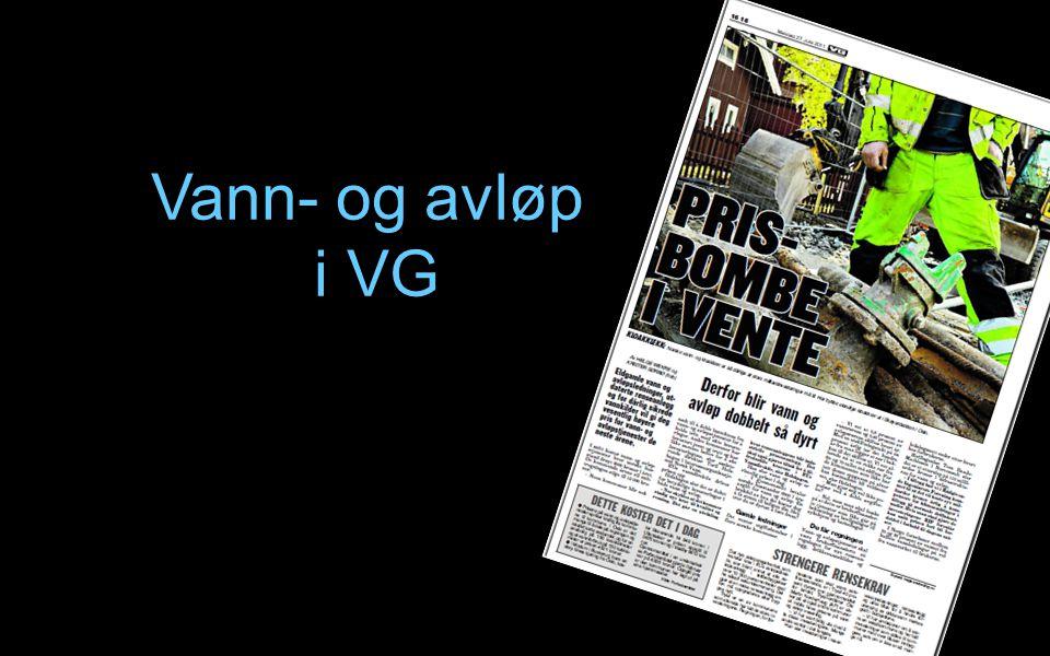 Vann- og avløp i VG