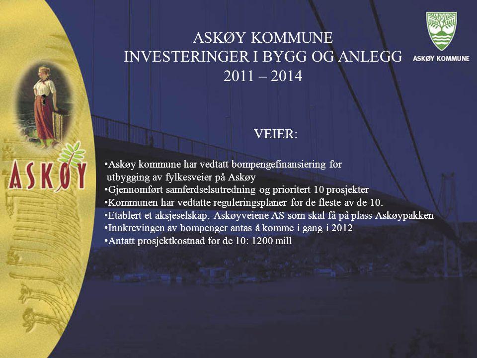 VEIER: Askøy kommune har vedtatt bompengefinansiering for utbygging av fylkesveier på Askøy Gjennomført samferdselsutredning og prioritert 10 prosjekt