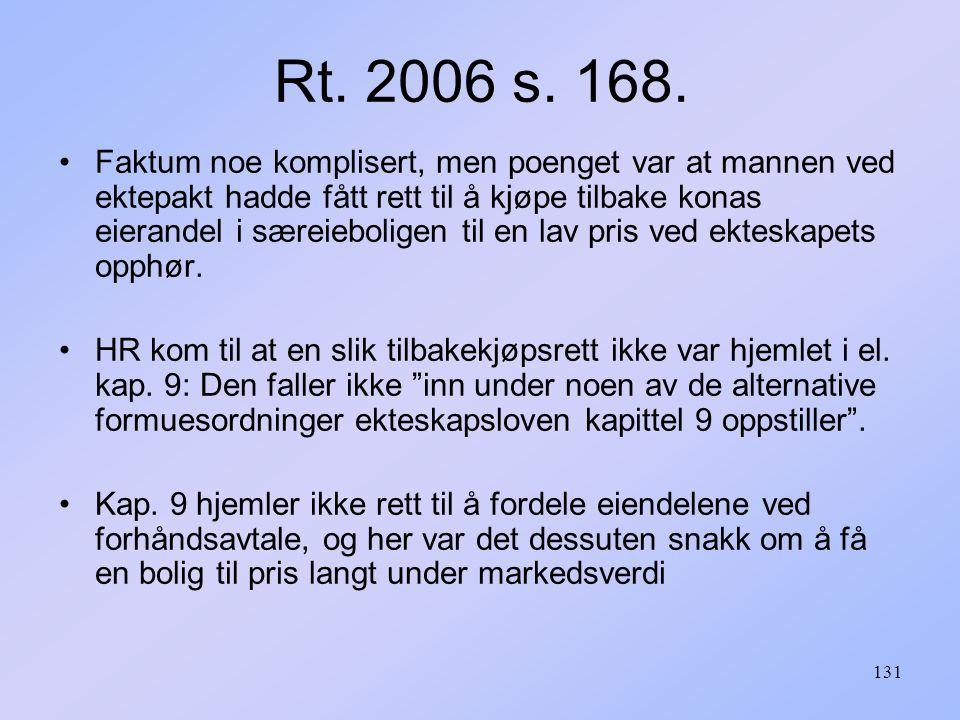 131 Rt.2006 s. 168.