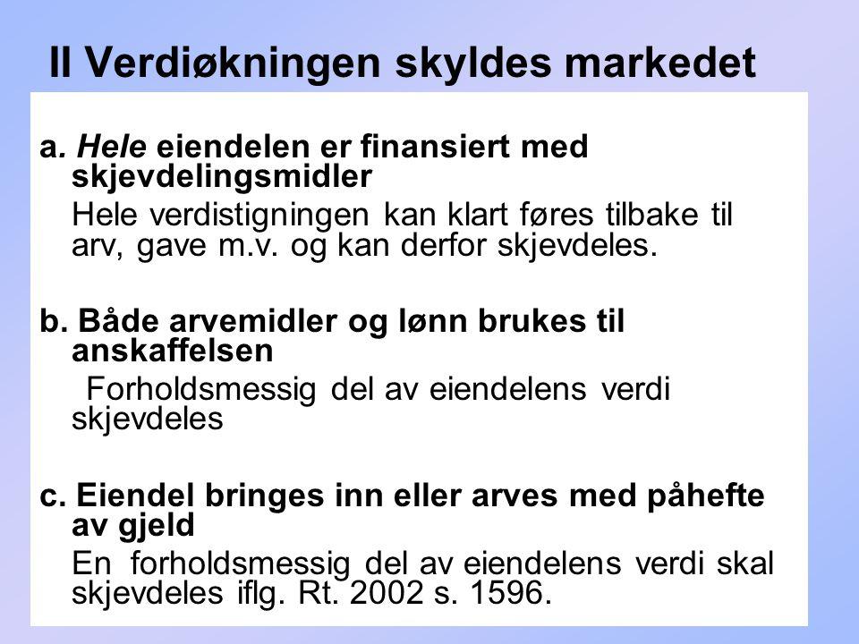 180 II Verdiøkningen skyldes markedet a.
