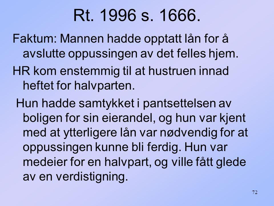 72 Rt.1996 s. 1666.
