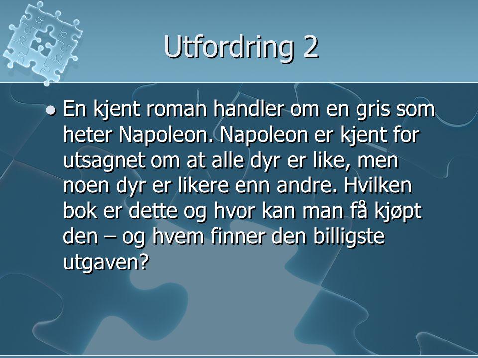 Utfordring 3 Du skal sammenligne barnedødelighet i Norge med India.