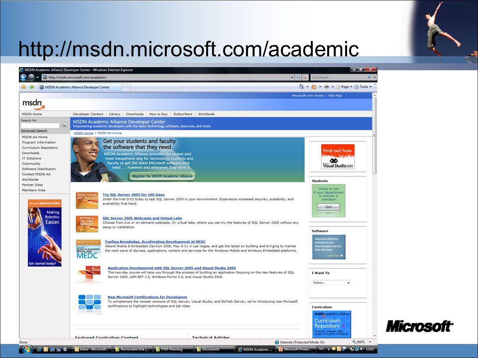 http://msdn.microsoft.com/academic
