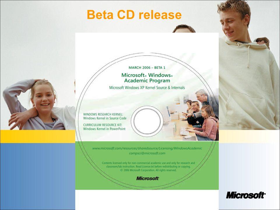 Beta CD release