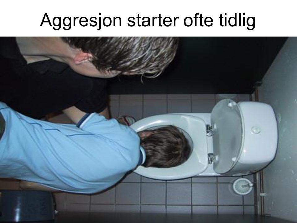 Aggresjon starter ofte tidlig