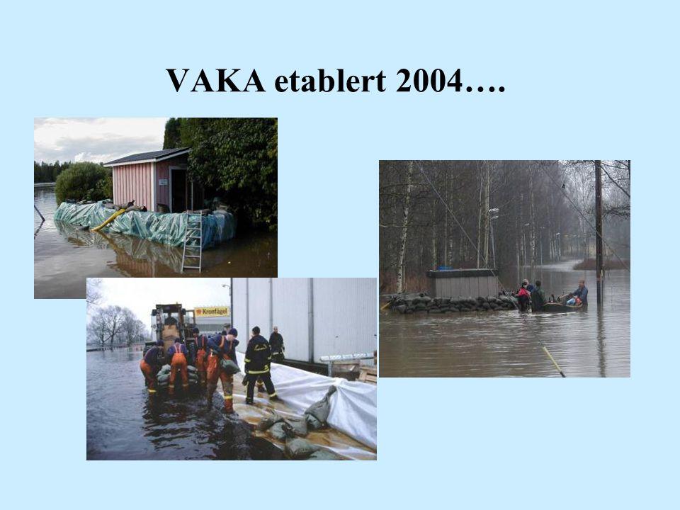 VAKA etablert 2004….