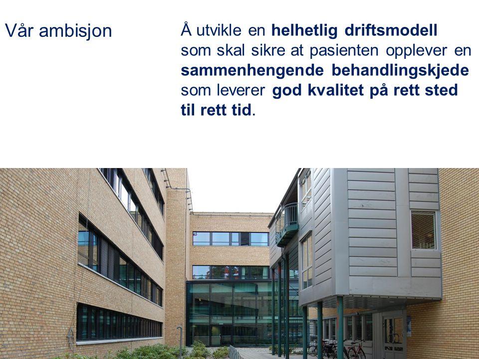 Utviklingsområde Prosessteam som en del av sykehusets kvalitetssystem. Prosjektleder Else Breines