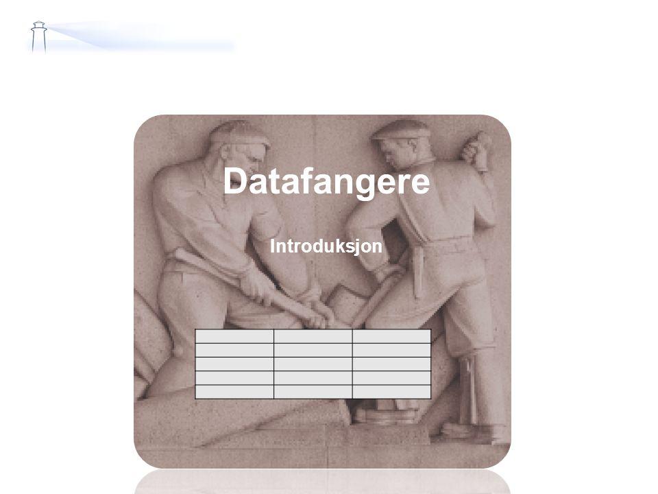 Datafangere Introduksjon