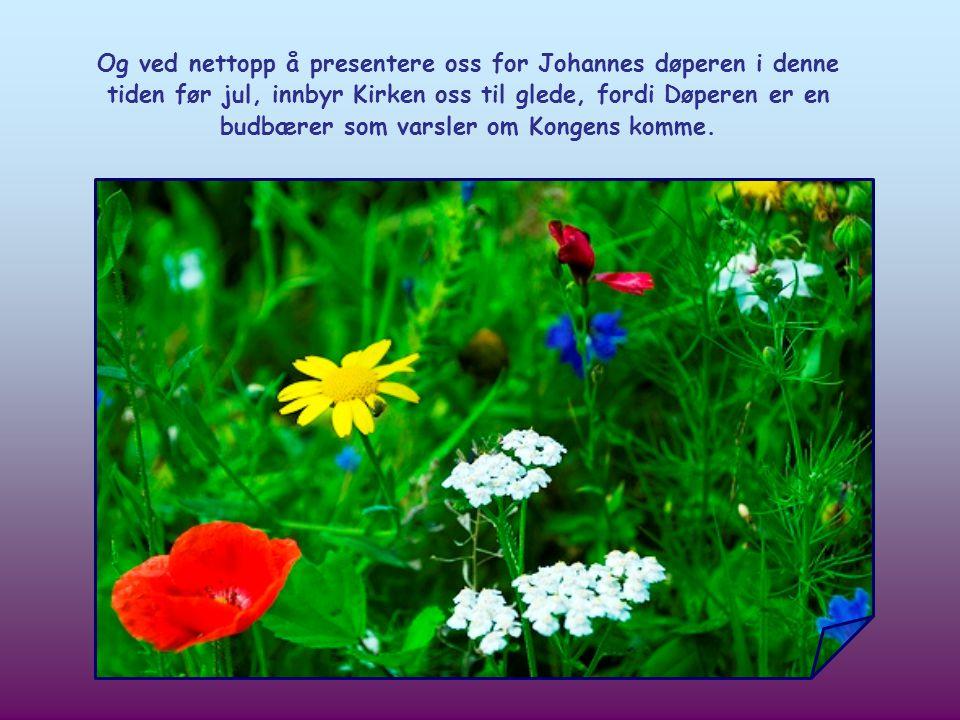 Av de første kristne ble utsagnet tillagt Johannes døperen, Jesu forløper.