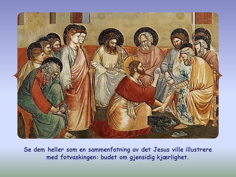 I Johannesevangeliet er «mine ord» nettopp synonymt med «mine bud».