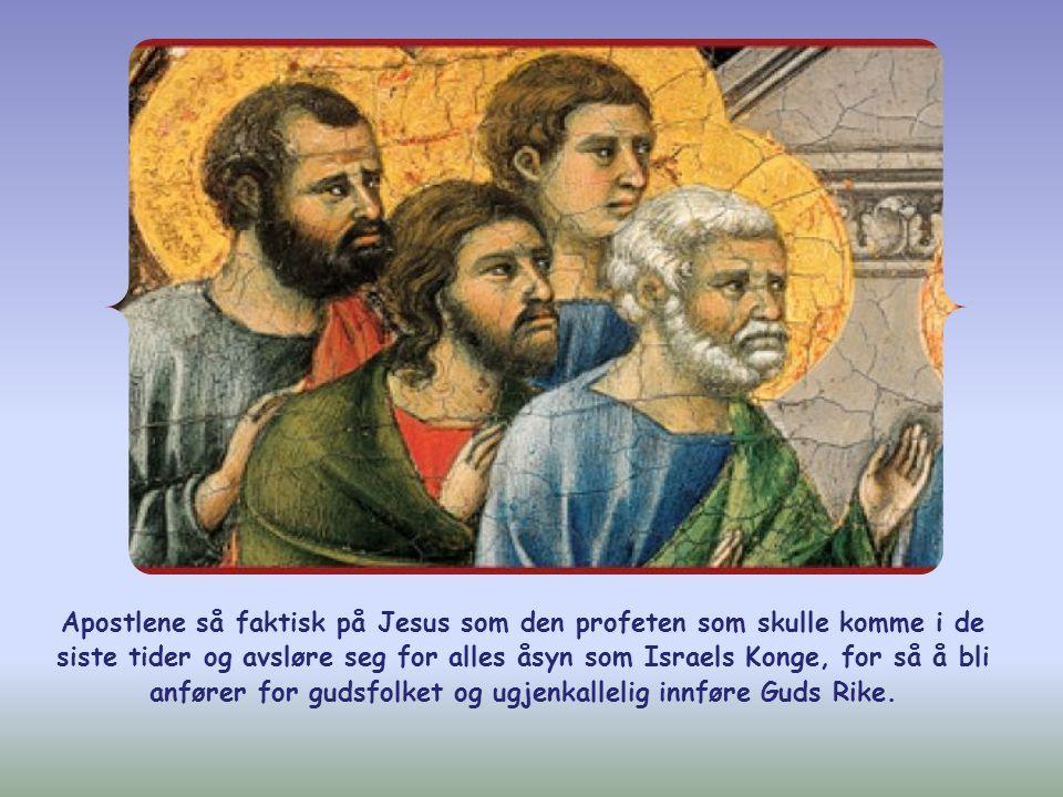 Judas (ikke Judas Iskariot) spurte ham så hvorfor han hadde i sinne å åpenbare seg for dem og ikke for hele folket.