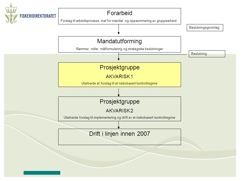 Forarbeid Forslag til arbeidsprosess, mal for mandat og oppsummering av gruppearbeid Mandatutforming Rammer, roller, målformulering og strategiske bes