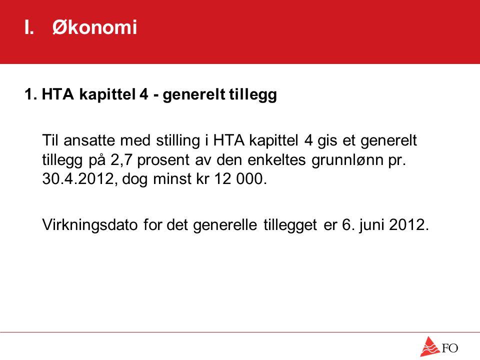 I.Økonomi 2. HTA kapittel 4 – minstelønn pr. 6.