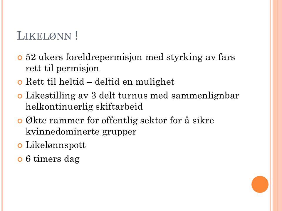 L IKELØNN .