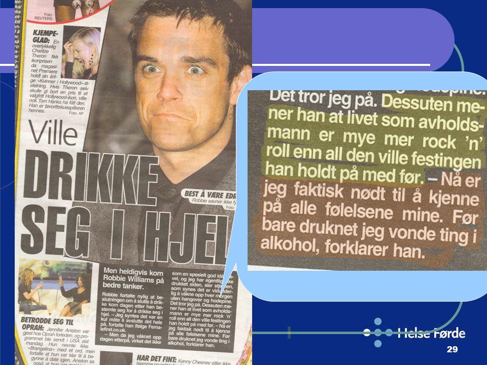 Harald Munkvold HELSE- FØRDE29