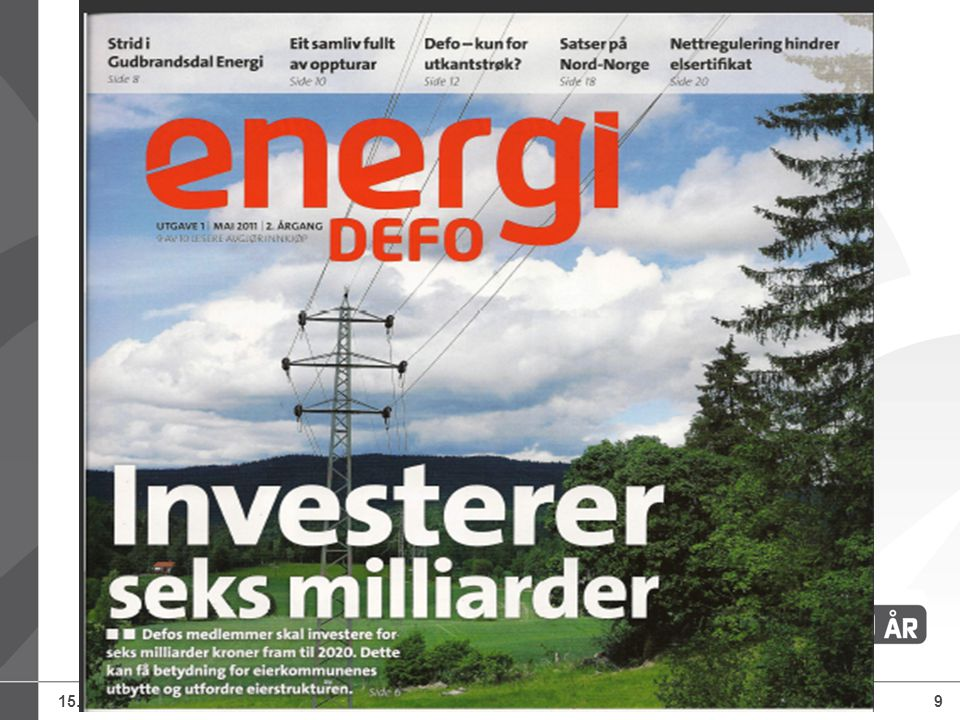 15.07.2014Defo – Distriktenes energiforening, Knut Lockert9