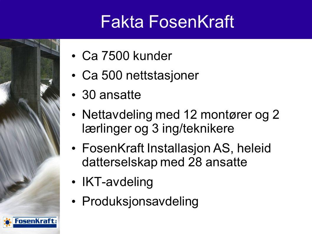 Fakta FosenKraft….