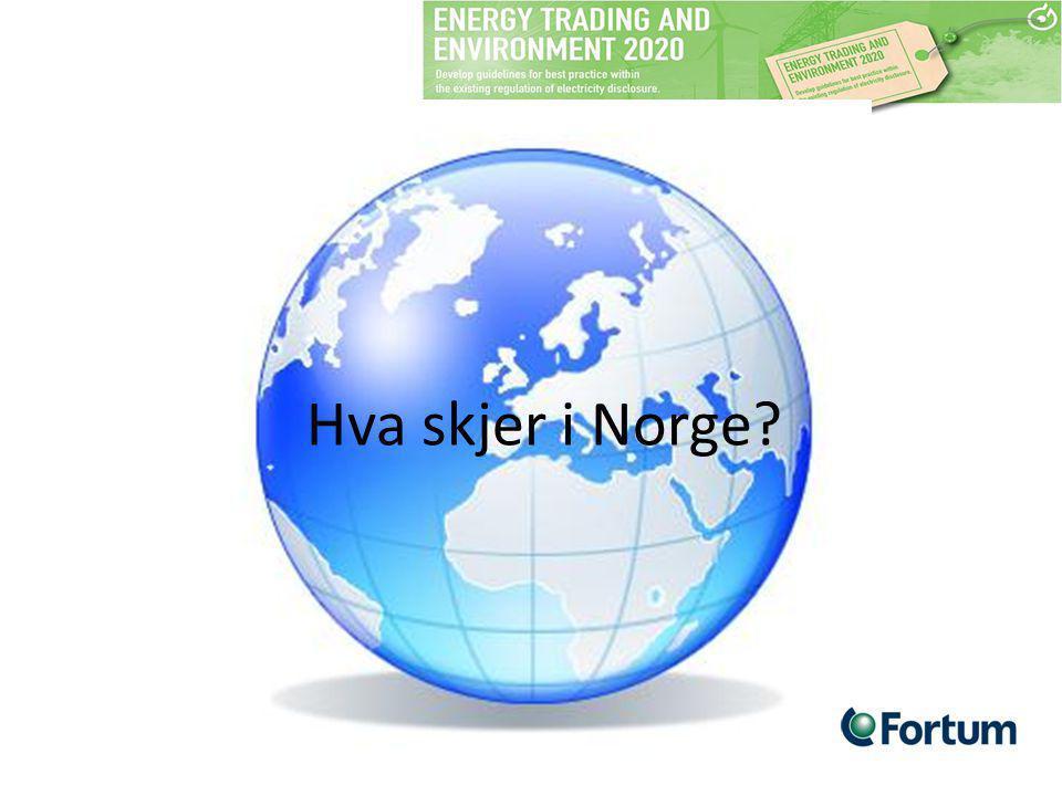 Hva skjer i Norge?