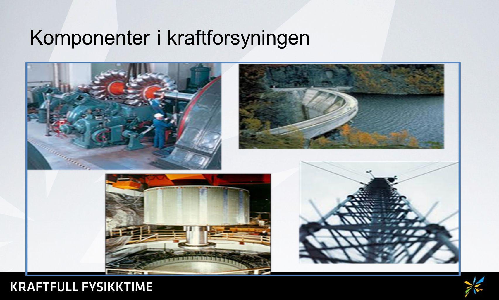 Komponenter i kraftforsyningen