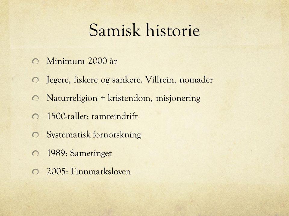 Samisk kultur Rein Joik Drakter Håndarbeid Kunsthåndverk Verktøy, redskaper