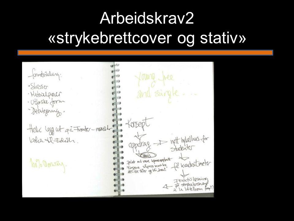 Arbeidskrav2 «strykebrettcover og stativ»