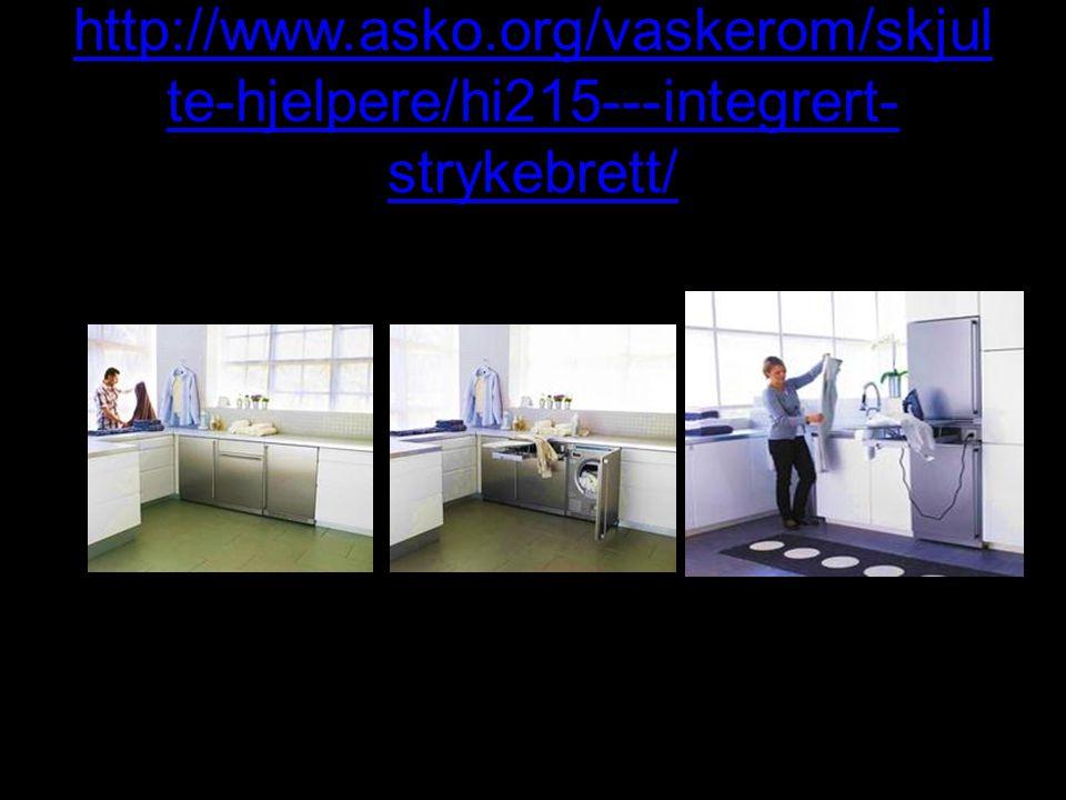 http://www.asko.org/vaskerom/skjul te-hjelpere/hi215---integrert- strykebrett/