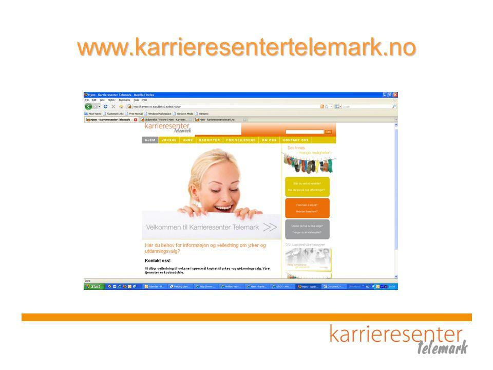 www.karrieresentertelemark.no