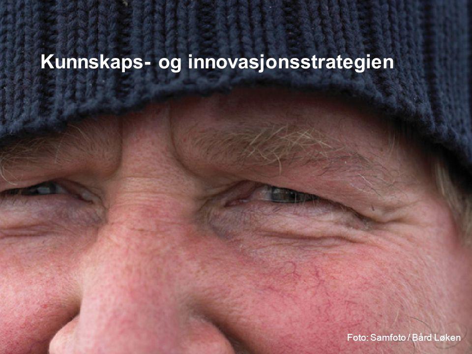 Kunnskaps- og innovasjonsstrategien Foto: Samfoto / Bård Løken