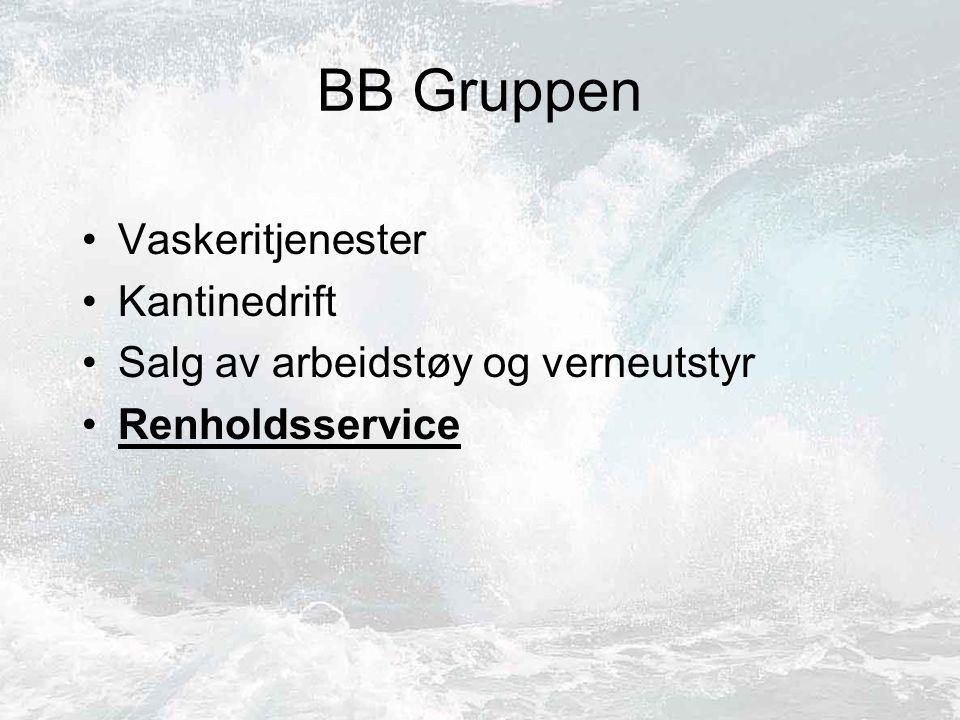 BB Gruppen Vaskeritjenester Kantinedrift Salg av arbeidstøy og verneutstyr Renholdsservice
