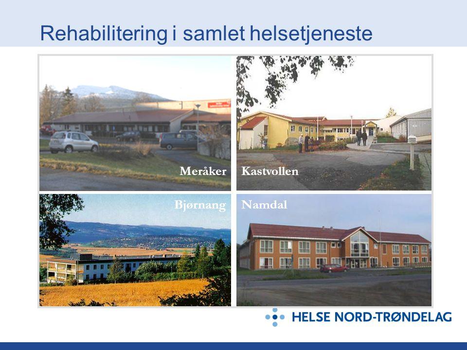 Rehabilitering i samlet helsetjeneste Bjørnang MeråkerKastvollen Namdal
