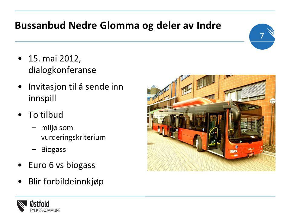 Bussanbud Nedre Glomma og deler av Indre 15.