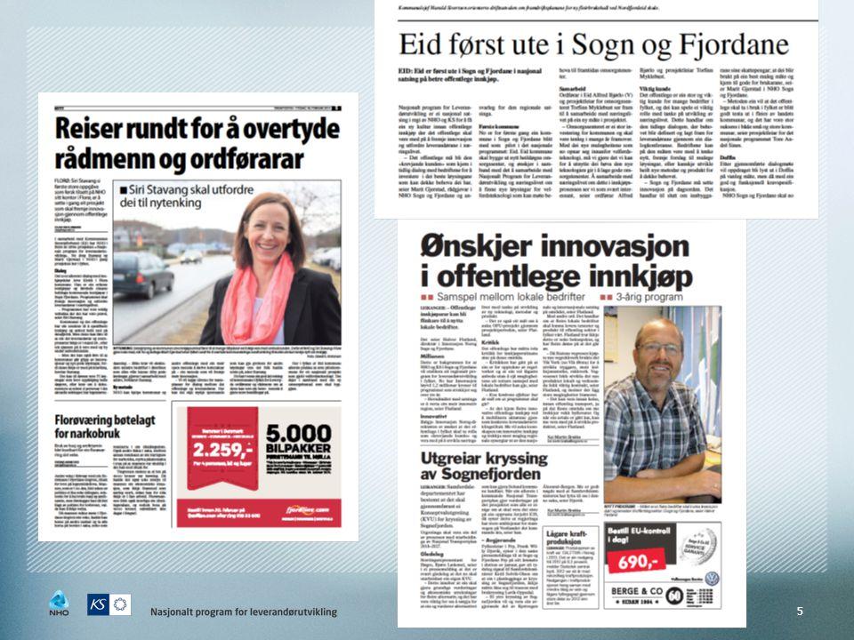 Kontakt Leverandørutvikling NHO Sogn og Fjordane  Siri L.
