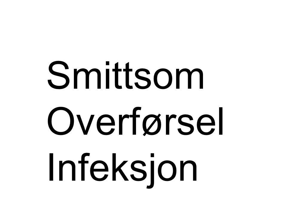 Smittsom Overførsel Infeksjon