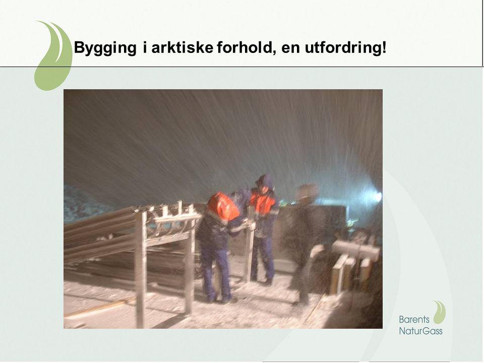 Bygging i arktiske forhold, en utfordring!