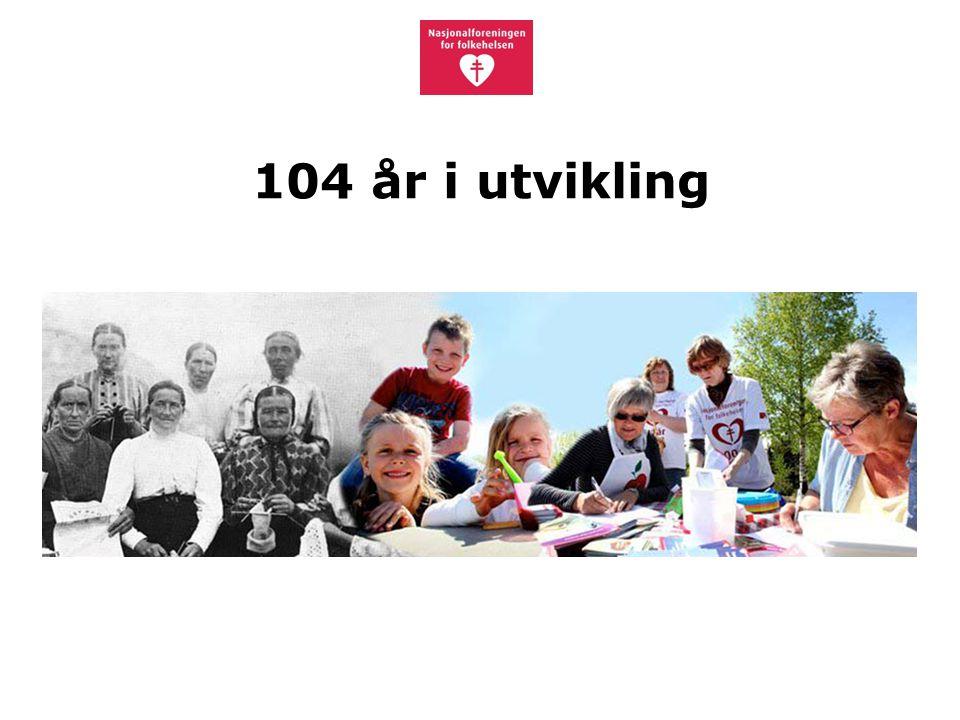 104 år i utvikling