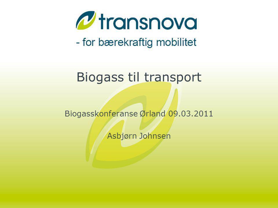 Gassleveranser og kjøretøy Bidra til bruk av biogass i transport –Ny/forbedret teknologi – dieselprinsippet og Otto-motor –God virkningsgrad –Større kjøretøyflåter –Biogass til fergedrift.