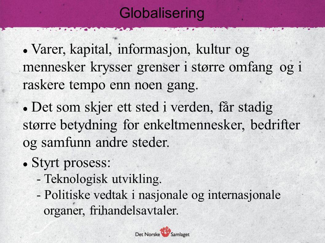 Økonomisk globalisering: Markedsøkonomi.