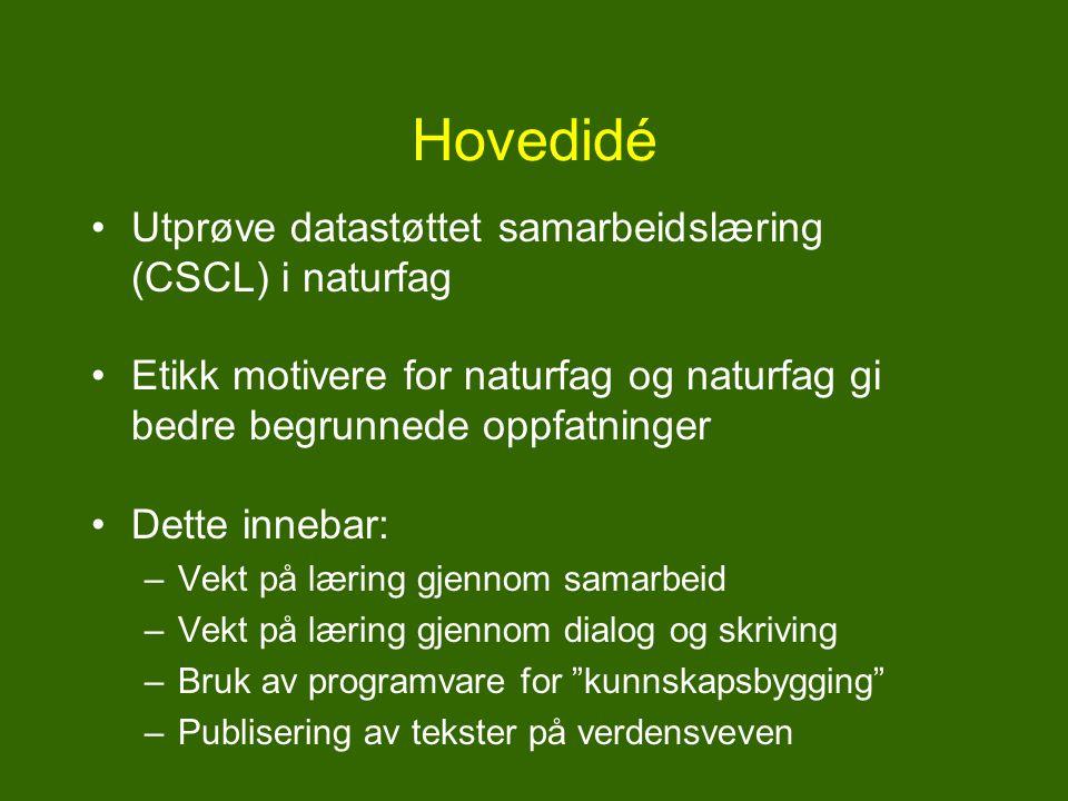 Hvem stod bak? Prosjekt DoCTA-NSS (lenke) Prof. Barbara Wasson (Intermedia, UiB, prosjektleder) Sten Ludvigsen (Intermedia, UiO) Anders Morch (Interme