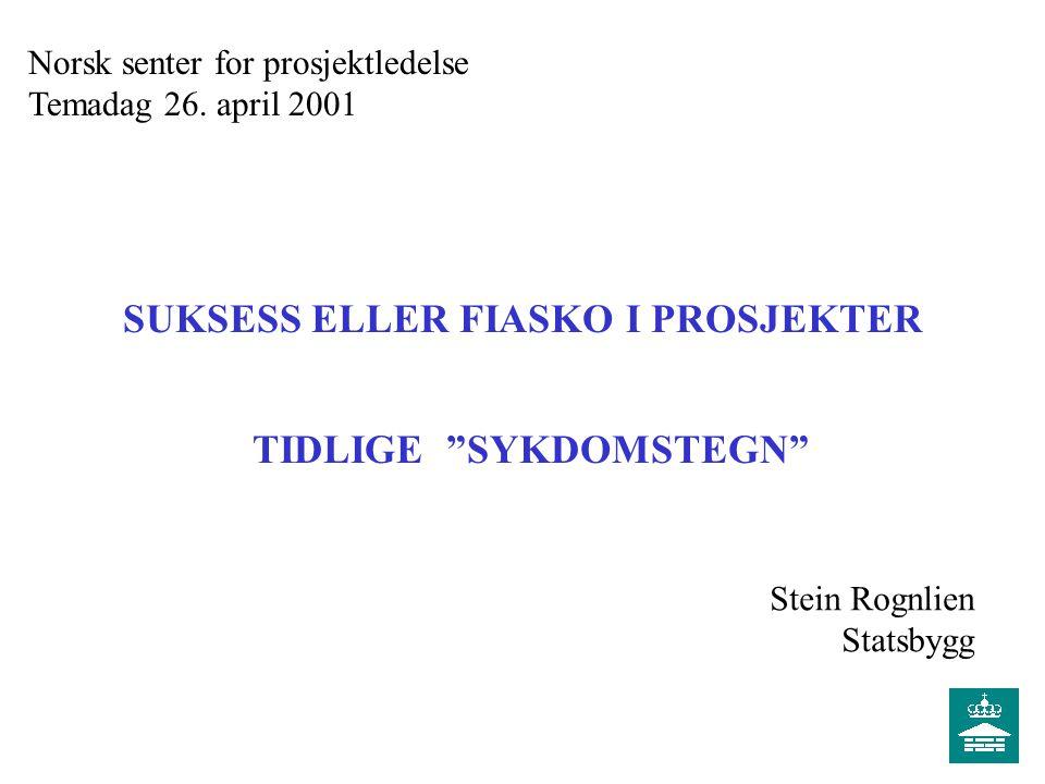 Norsk senter for prosjektledelse Temadag 26.