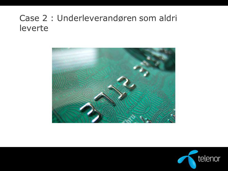 Hovedprosjekt Lav Høy Delprosjekt Marked Medium Grad av smidighet: Delprosjekt Teknisk WEB teamKjernesystemer Ekstern leverandør Leverer 1/2 år for sent Delprosjekt Produkt