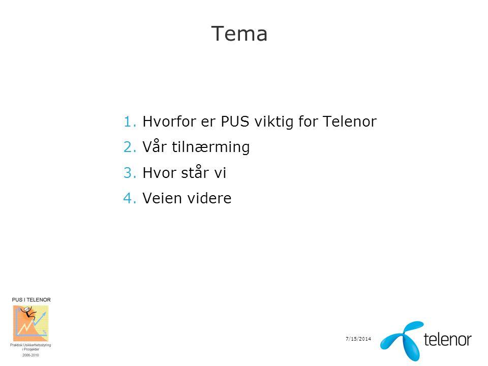 7/15/2014 Hvorfor er PUS viktig for Telenor.