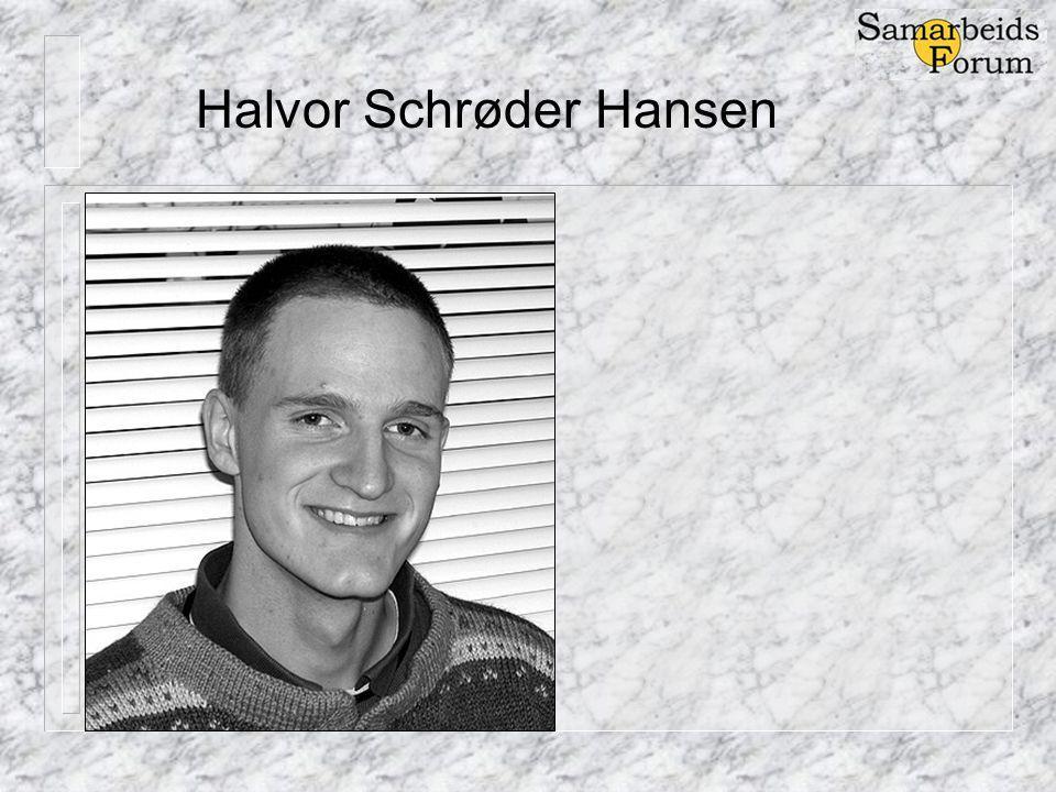 Halvor Schrøder Hansen