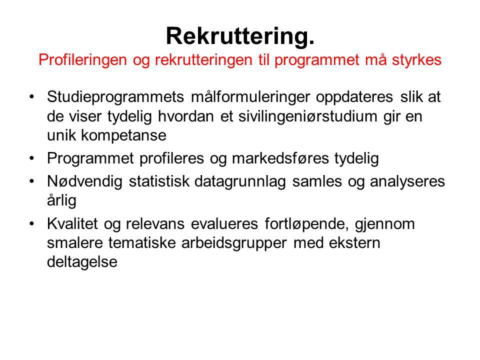 Rekruttering.