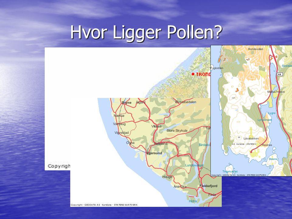Om pollen Terskelfjord Terskelfjord 2 km lang 2 km lang Kraftig gjødslet Kraftig gjødslet Renner bekker – Brakkvann i overflaten Renner bekker – Brakkvann i overflaten