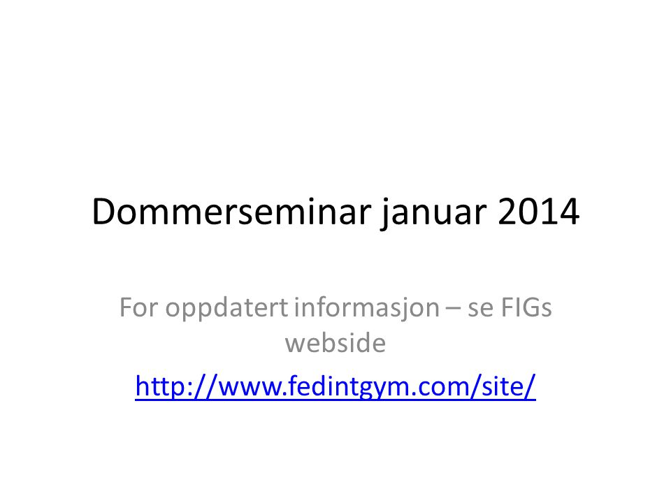 Rapporter fra EM http://www.ueg.org/files/page/editor/files/Mos cow_Final%20Technical%20report%20WAG_E.p df