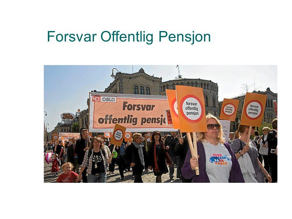 Hvem er aksjon forsvar offentlig pensjon  Noen tillitsvalgte fra forskjellige fagforeninger tok initiativet til Forsvar Offentlig Pensjon i etterkant av oppgjøret i privat sektor i 2008.