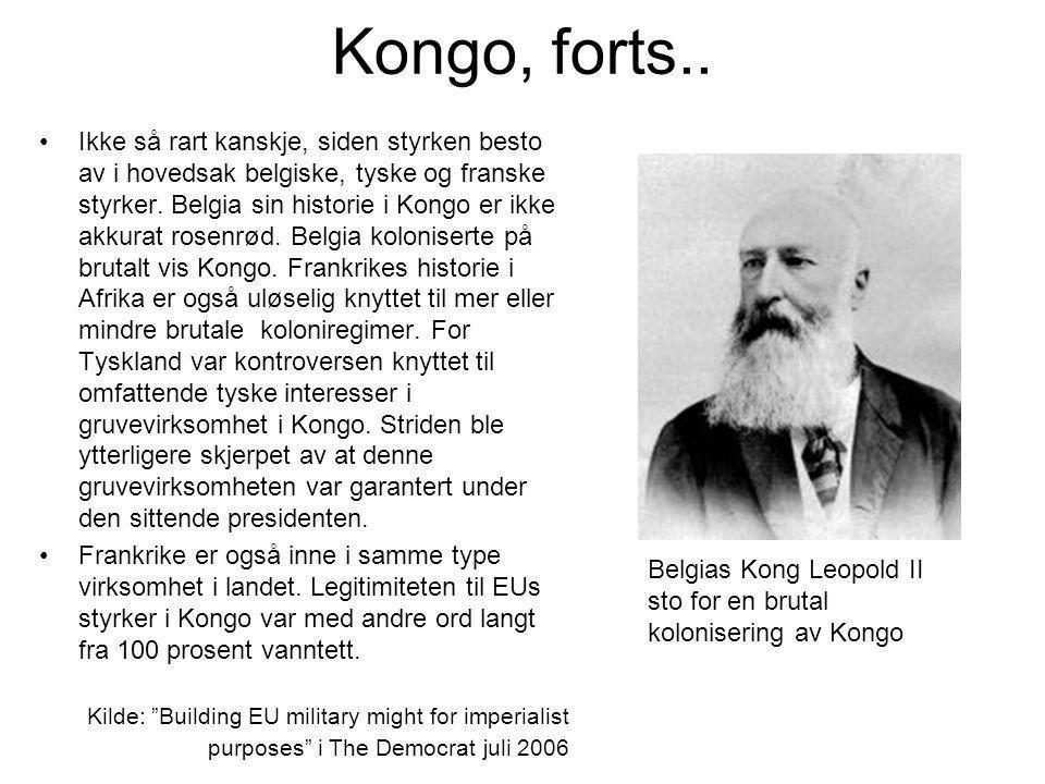 Kongo, forts..