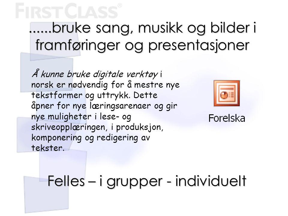 Å kunne bruke digitale verktøy i norsk er nødvendig for å mestre nye tekstformer og uttrykk. Dette åpner for nye læringsarenaer og gir nye muligheter