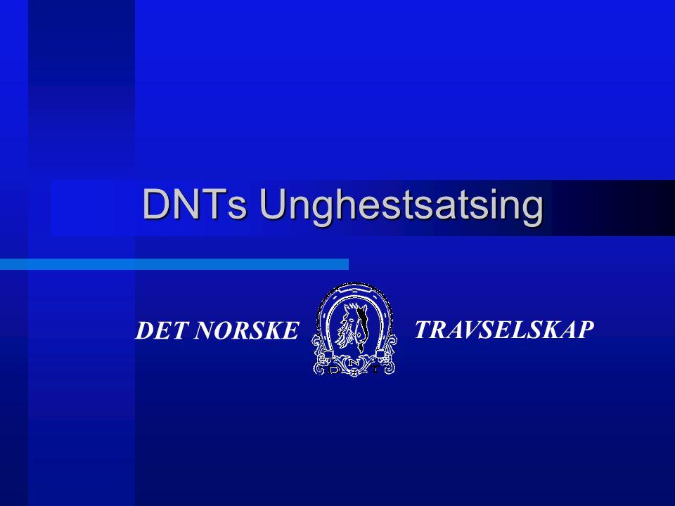 DET NORSKE TRAVSELSKAP DNTs Unghestsatsing